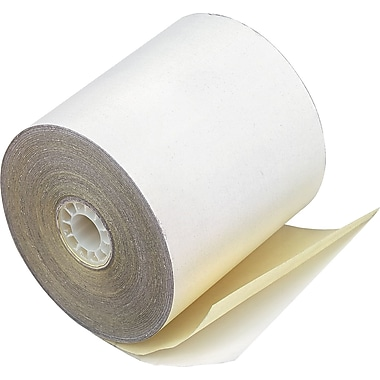 PM Company® Impact Printing Carbonless Paper Roll, Assorted, 2 1/4in.(W) x 70'(L), 50/Ctn