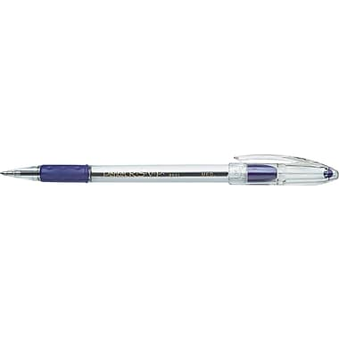 Pentel ® R.S.V.P. ® Stick Ballpoint Pen, 1 mm Medium, Violet, Dozen