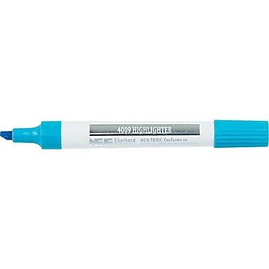 Berol 4009® Highlighter, Chisel Tip, Fluorescent Blue
