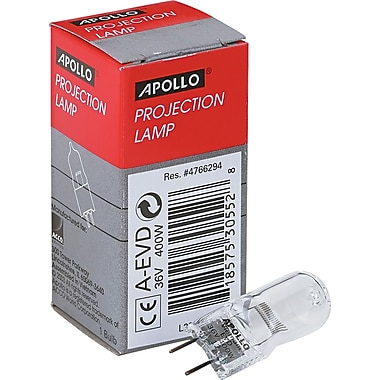 Apollo® Projection And Microfilm Replacement Lamp For 3M 9550, 9800 Overhead Projectors, 400 W, 36 V