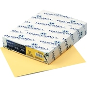 "Hammermill® Fore® MP Recycled Color Paper, Buff, 8 1/2""(W) x 11""(L), 500/Ream"