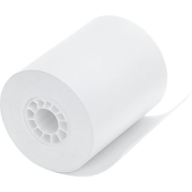 PM Company® Direct Thermal Printing Med/Lab/Specialty Paper Roll, White, 2 1/4in.(W) x 80'(L), 12/Pack