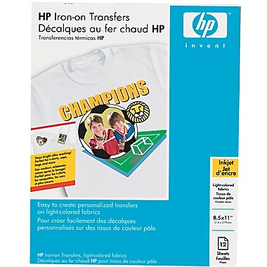 HP C6049A White Creative Expressions Paper, 8 1 / 2in.(W) x 11in.(L), 12 / Pack