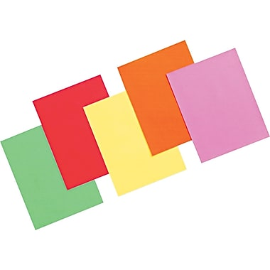 Pacon® Array® Color Bond Paper, Assorted Brights, 8 1/2in.(W) x 11in.(L), 500/Ream