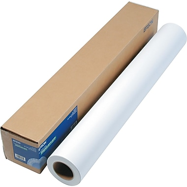 Epson® Enhanced Photo Paper Roll, Bright White, 36in.(W) x 100'(L), 1/Roll