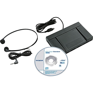 Olympus® AS-2400 PC Transcription Kit for Digital Recorders