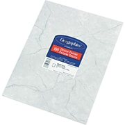 "Geographics® Design Paper, 8 1/2""(L) x 11""(W), Marble Gray"