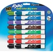 EXPO  Dry Erase Marker, Chisel Tip, Assorted, 16/Set