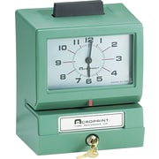 Acroprint 125AR3 Heavy-Duty Analog Time Recorder, Green