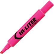 HI-LITER® Desk Style Highlighter, Chisel Tip, Fluorescent Pink