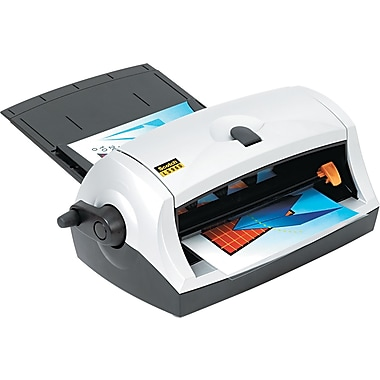 Scotch ® Heat-Free Laminator, 8 1/2in. Wide, Black/Silver, Up To 9.2 mil (T) Pouch