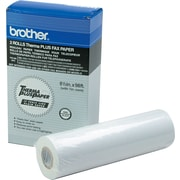 "Brother 98' 8 1/2"" x 98' ThermaPlus Fax Paper Roll White 2/Pack 6890"