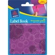 Avery® 22068 Removable Label Pad Book, 1in.(W) x 3in.(L) Neon Magenta, 2in.(W) x 3in.(L) Purple, 80/Pack