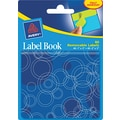 Avery® 22067 Removable Label Pad Book, 1in.(W) x 3in.(L) Neon Green, 2in.(W) x 3in.(L) Neon Blue, 80/Pack