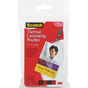 "Scotch® Laminating Pouch, 5 mil, 4 1/4""(H) x 2.20""(W), 10/Pack"