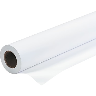 PM Company  Amerigo  Wide-Format Inkjet Paper With Check-24, White, 36in.(W) x 150'(L), Each