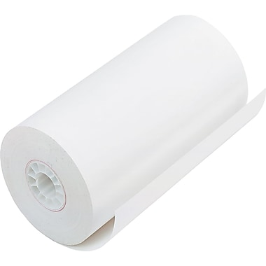 PM Company ® Direct Thermal Printing Cash Register/POS Paper Roll, 4 9/32in.(W) x 115'(L), 25/Ctn