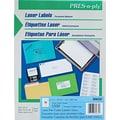 Avery ® PRES-a-ply ® 30632 White File Folder Label, 2/3in.(W) x 3 7/16in.(L), 1500/Box