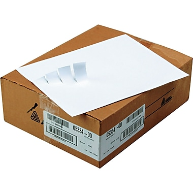 Avery ® 5334 White Copier Address Label, 1in.(W) x 2 13/16in.(L), 16500/Box