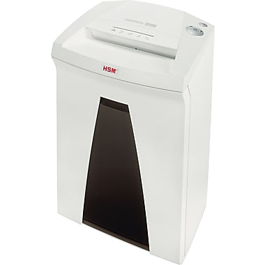 HSM of America SECURIO® B24C Medium-Duty Shredder, 19 Sheet Capacity, 13 ft/min Speed