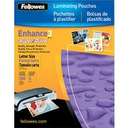 Fellowes Laminating Pouches - 9(H) x 11.5(W) Size, 3 mil, 100 pack