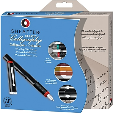 Sheaffer® Calligraphy Pen Set, Maxi Kit, 3 nibs