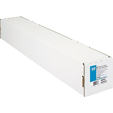 HP Premium Instant-Dry Photo Paper, White, 36in.(W) x 100'(L), 1/Roll