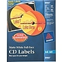 Avery ® 8960 Matte White Full-Face CD Label,