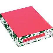 ASTROBRIGHTS® Cardstock, 8 1/2 x 11, 65 lb., Plasma Pink, 250/Pack