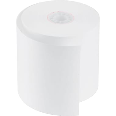 PM Company® Impact Bond Cash Register/POS Paper Roll, White, 2 3/4in.(W) x 150'(L), 50/Ctn
