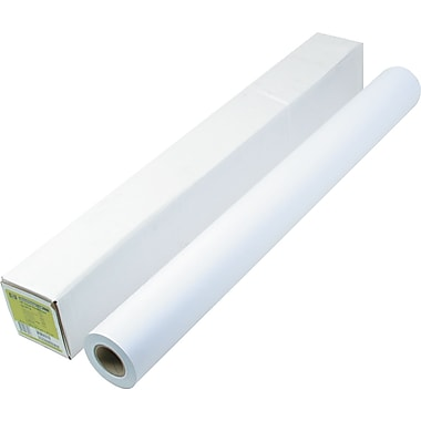 HP Designjet Large Format Paper For Inkjet Printers, White, 36in.(W) x 150'(L), 21 lbs., 1/Roll