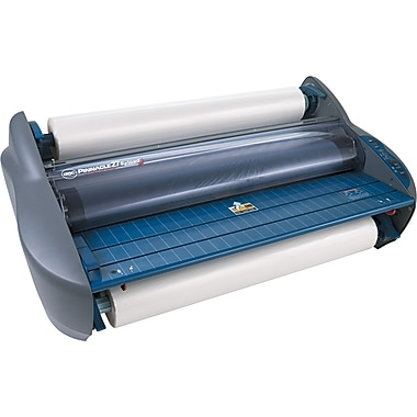 GBC ® Pinnacle EZload Laminator, 27in. Wide, Blue/Gray, Up To 3 mil (T) Pouch