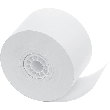 PM Company ® Impact Bond Cash Register/POS Paper Roll, White, 1 3/4in.(W) x 150'(L), 10/Pack