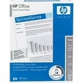 HP Office Paper, White, 8 1/2in.(W) x 11in.(L), 3 Hole Punched, 500/Ream
