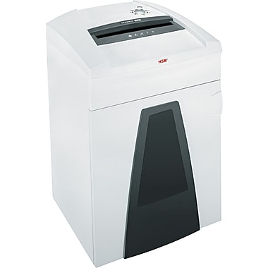 HSM of America SECURIO ® P36c Continuous-Duty Shredder, 31 Sheet Capacity, 18 ft/min Speed