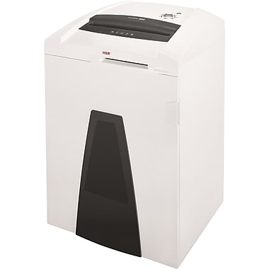 HSM of America SECURIO® P44c Continuous-Duty Shredder, 46 Sheet Capacity, 18 ft/min Speed