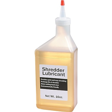 HSM of America Clear Shredder Lubricant, 16 oz. Bottle