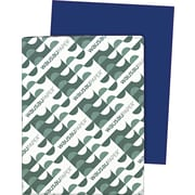 Wausau Paper  Astrobrights  Colored Card Stock, Blast-Off Blue , 8 1/2(W) x 11(L), 250 Sheets