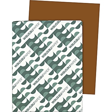 Wausau Paper  Astrobrights  Colored Card Stock, Jupiter Java , 8 1/2in.(W) x 11in.(L), 250 Sheets