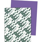 Wausau Paper  Astrobrights  Colored Card Stock, Gravity Grape , 8 1/2(W) x 11(L), 250 Sheets
