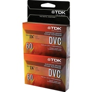 TDK Superior Grade Digital Camcorder Video Tape Cassette , 60 min