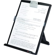 "3M Desktop Document Holder, Black, 12""(H) x 9 3 / 8""(W) x 2""(D), 150 Sheet Capacity"