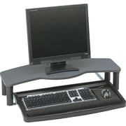 Kensington® Desktop Comfort Keyboard Drawer, Black/Gray, 2 1/2 - 6 1/2(H) x 30(W) x 15(D)
