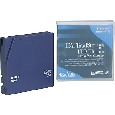 IBM ® Ultrium LTO-2 Cartridge, 1998'(L), 200 GB Native/400 GB Compressed