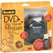 Scotch® CD/DVD Disc Cleaner and Repair Kit, Unscented