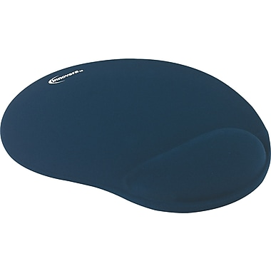 Innovera® Gel Mouse Pad With Wrist Rest, Blue, 8 7/8in.(D)