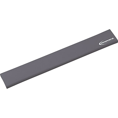 Innovera® Natural Rubber Keyboard Wrist Rest, Gray, 2 1/2in.(D)