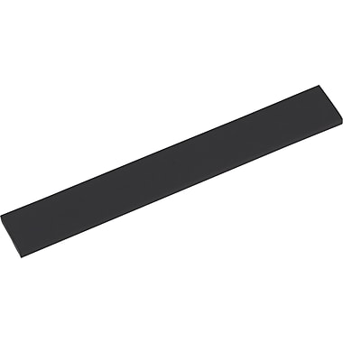 Innovera® Natural Rubber Keyboard Wrist Rest, Black, 2 1/2in.(D)