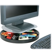 Kensington ® Spin2 Monitor Stand With SmartFit ®, Black, 3 1/4(H) x 14(W) x 14(D), 40 lbs.