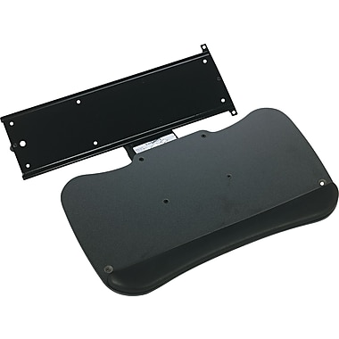 Mayline ® Retractable Keyboard Platform, Black, 19 1/2in.(W) x 11in.(D)